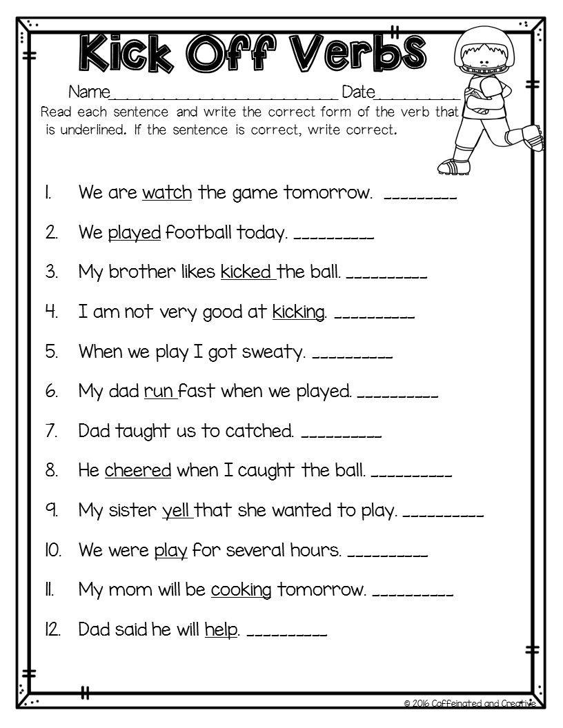 I Heart February Sentences, Literacy and Math