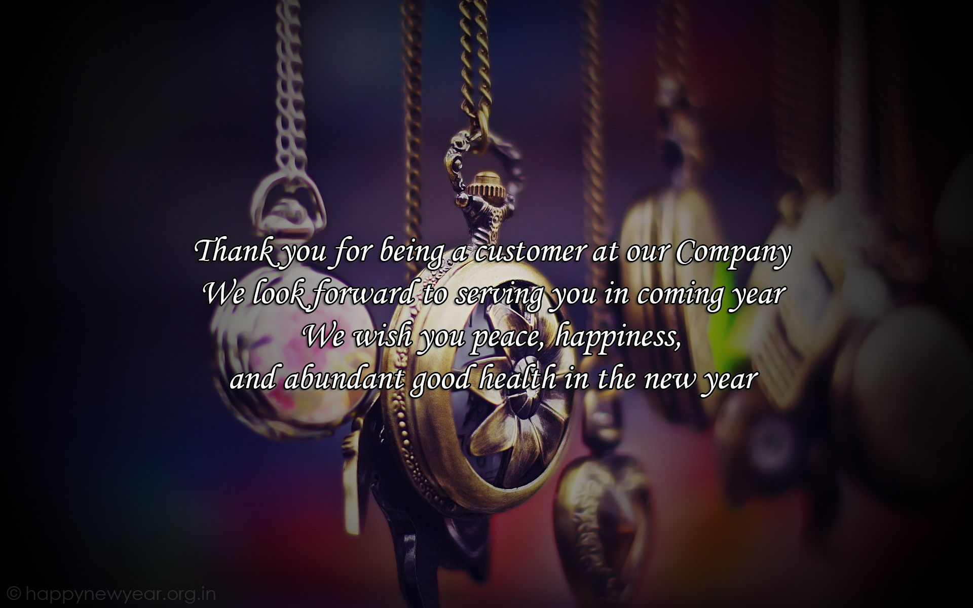 Professional New Year 2014 Greeting Cards For Business