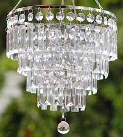 A Battery Operated Led Chandelier For The Camper