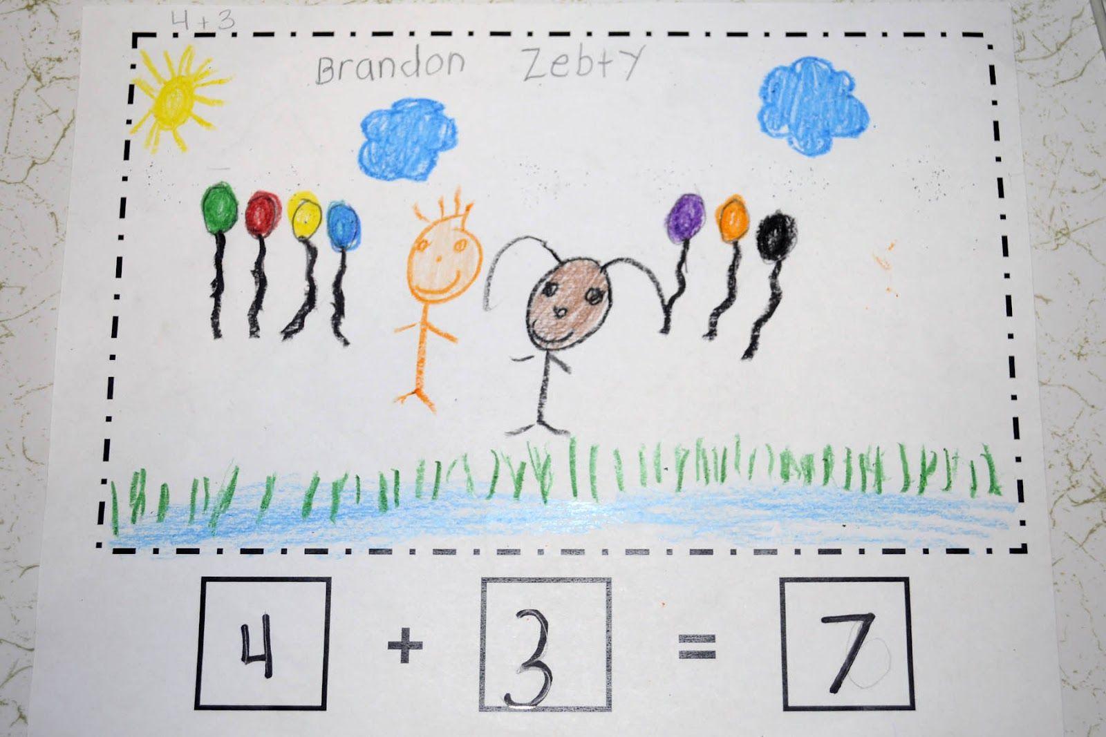Mrs Ricca S Kindergarten Addition Math Stories
