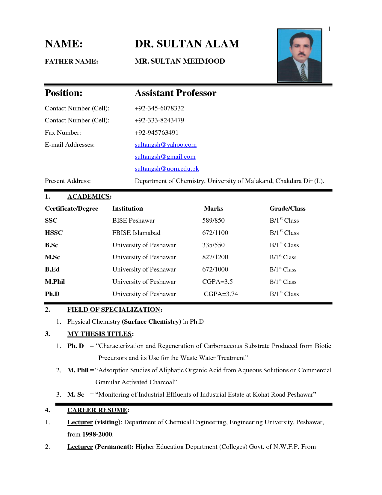 Writing And Editing Services Sample Of Office Boy Cv