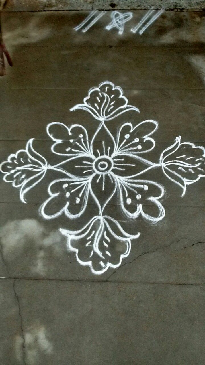 Pin by VENNILA VENKATACHALAPATHY on Kolam Pinterest
