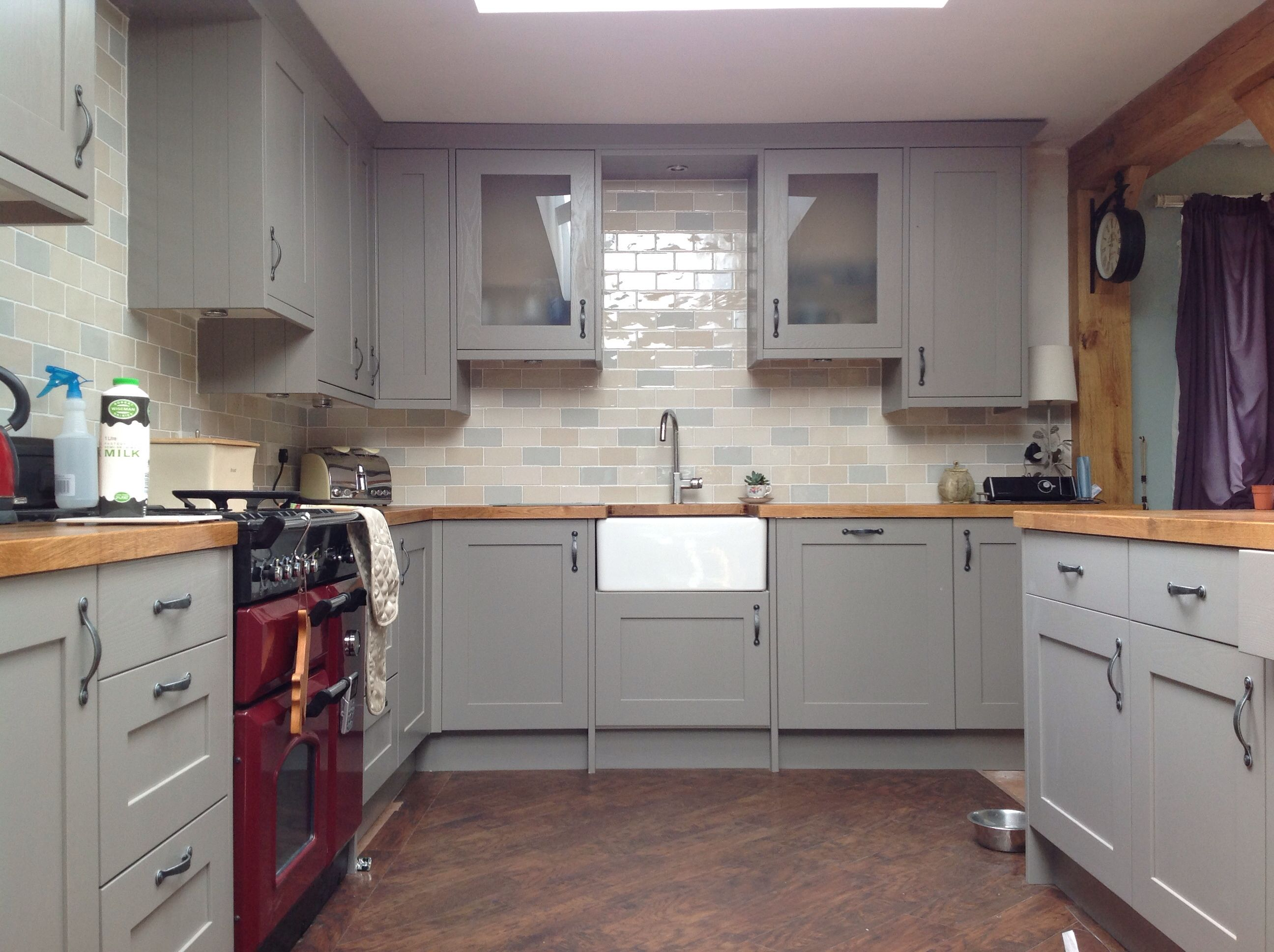 This is my kitchen. All done and dusted with carlisbrooke
