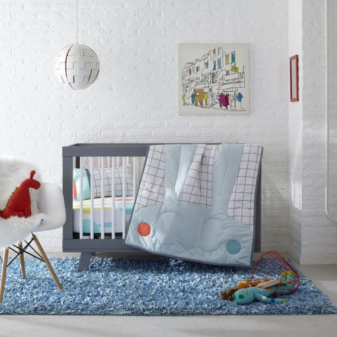 Snuggle Bunnies Crib Toddler Bedding