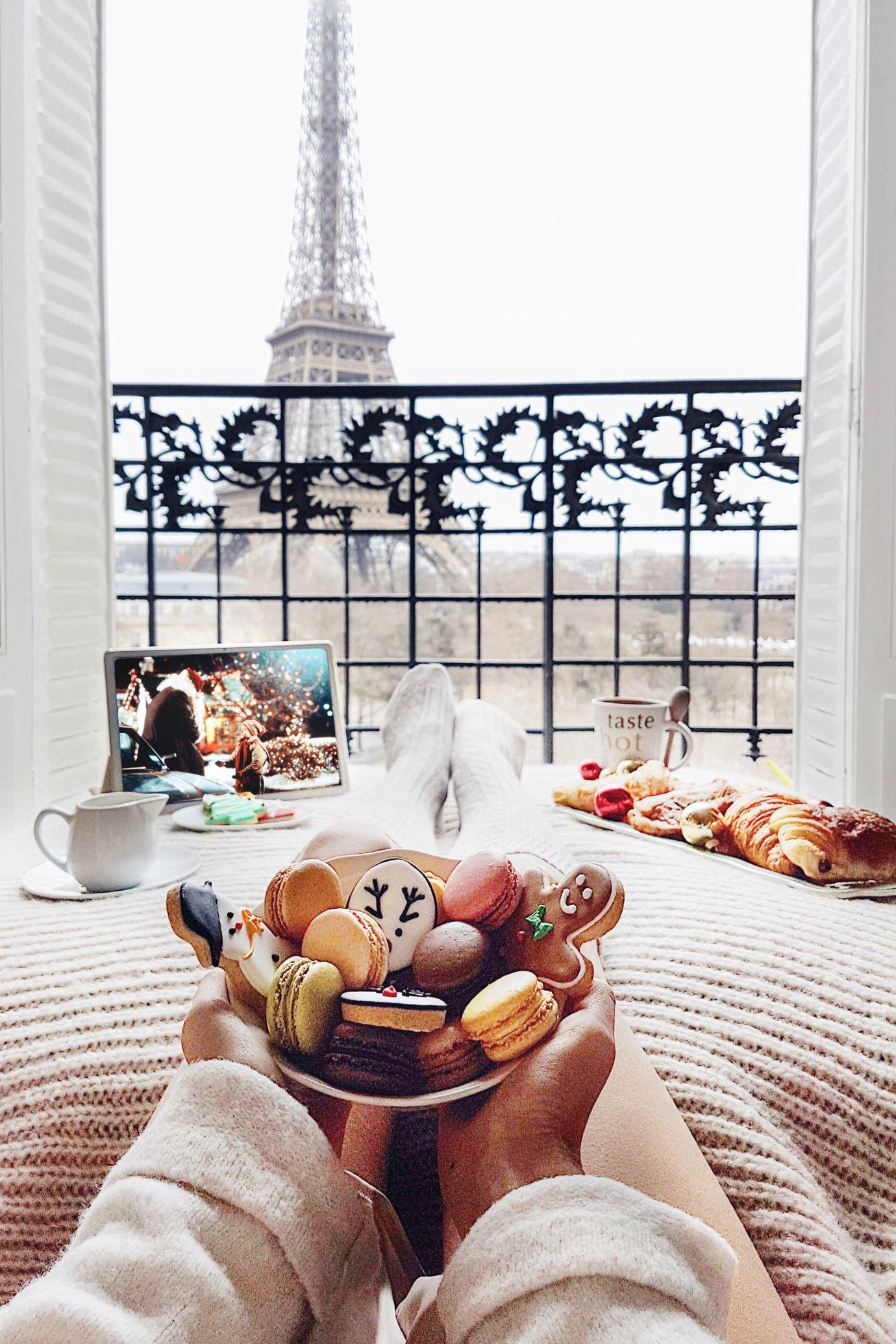 Christmas Break Christmas morning, Paris hotels and