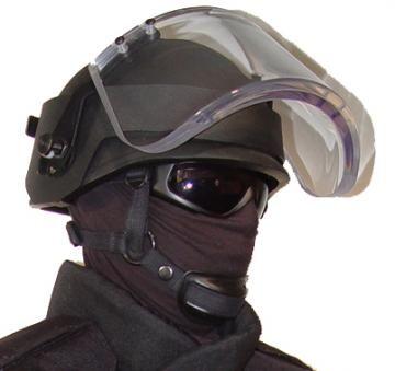 Ballistic Visor Face Shield Level Ii
