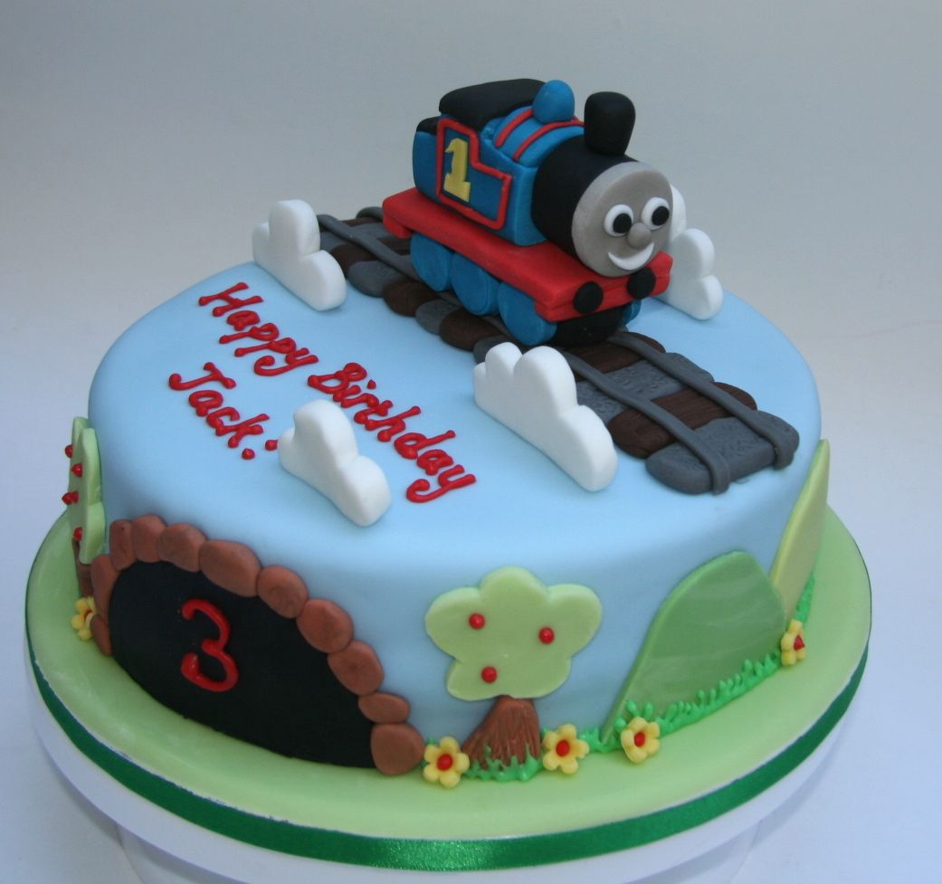 Unique Thomas The Train Cakes