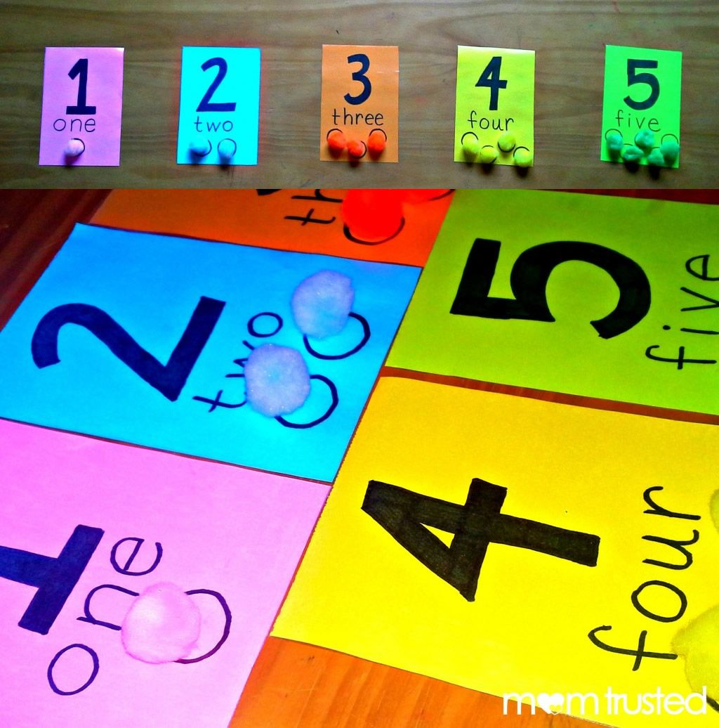 Make Your Own Preschool Counting Activity And Lesson With