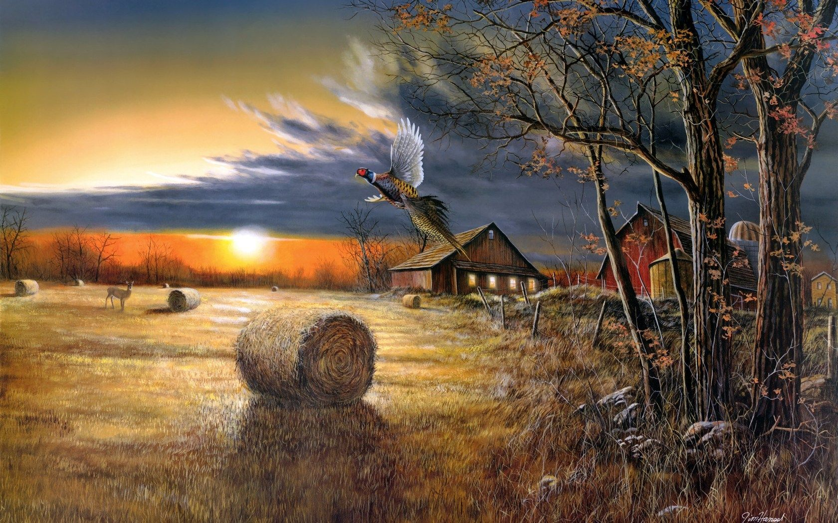 country landscapes Hansel artistic paintings prints
