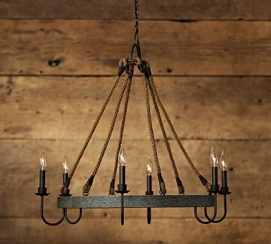 Napa Wine Barrel Chandelier Potterybarn Woo Hoo Just Bought This For
