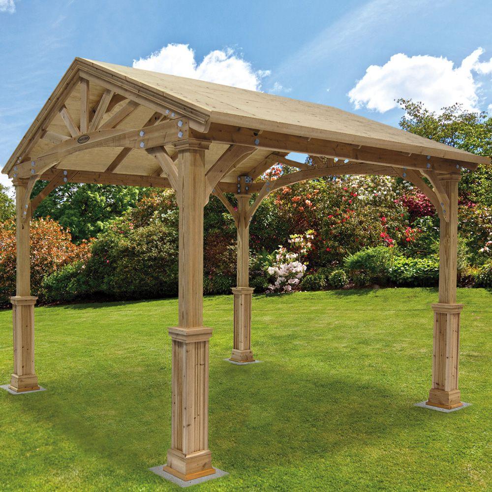 Wooden gazebo plans free 4 Wooden Gazebo Kits