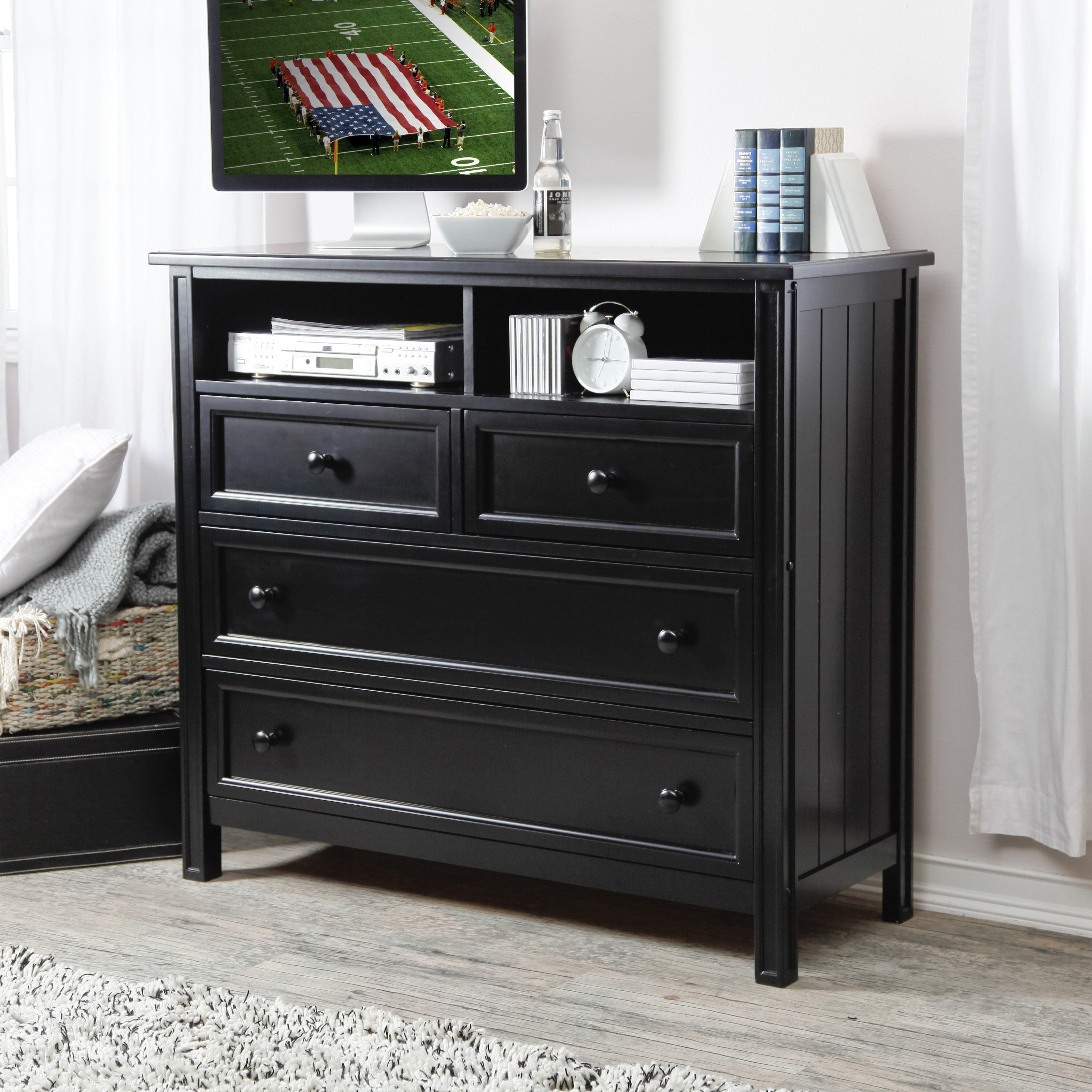 have to have it. belham living casey media chest - black - $499.99