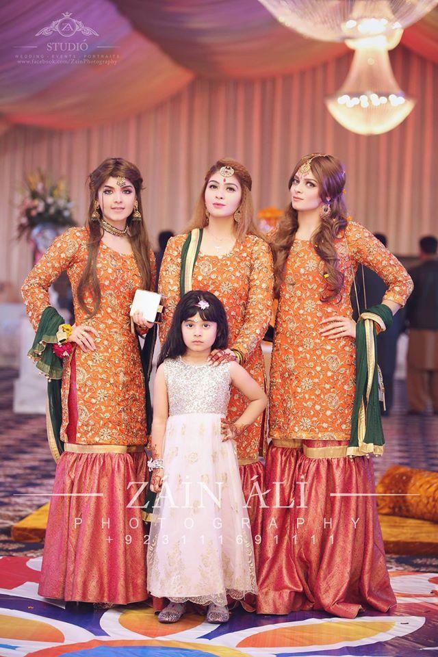 Nice dresses fpr mehndi function Wedding Wear