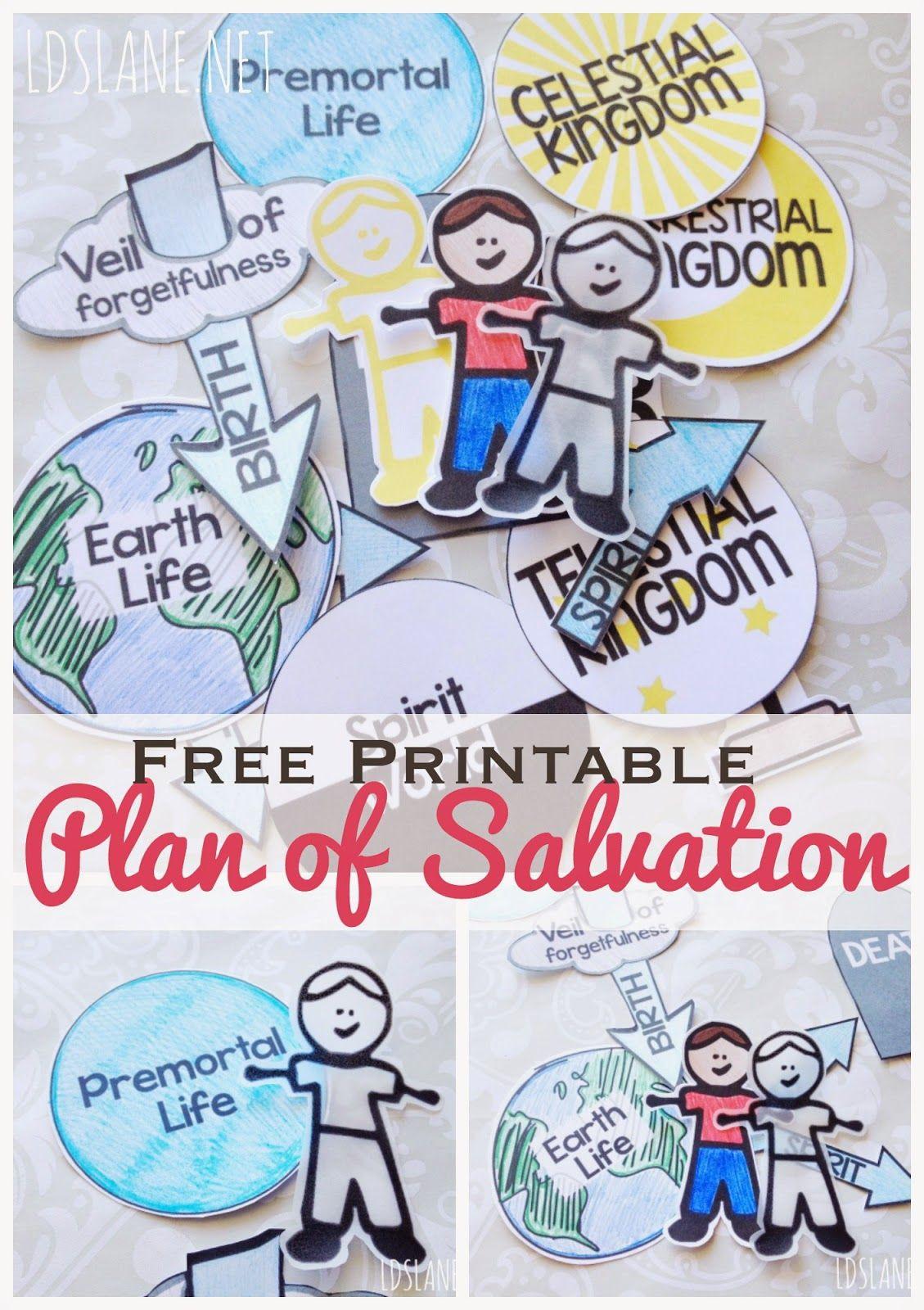 Family Home Evening Series Plan Of Salvation Ldslane