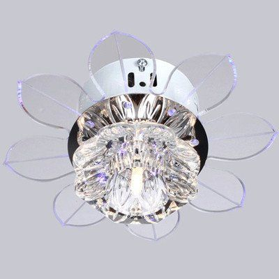 New Modern Crystal Led Ceiling Light Fans Fixture Lighting Chandelier N Free Shipping Us 71 98