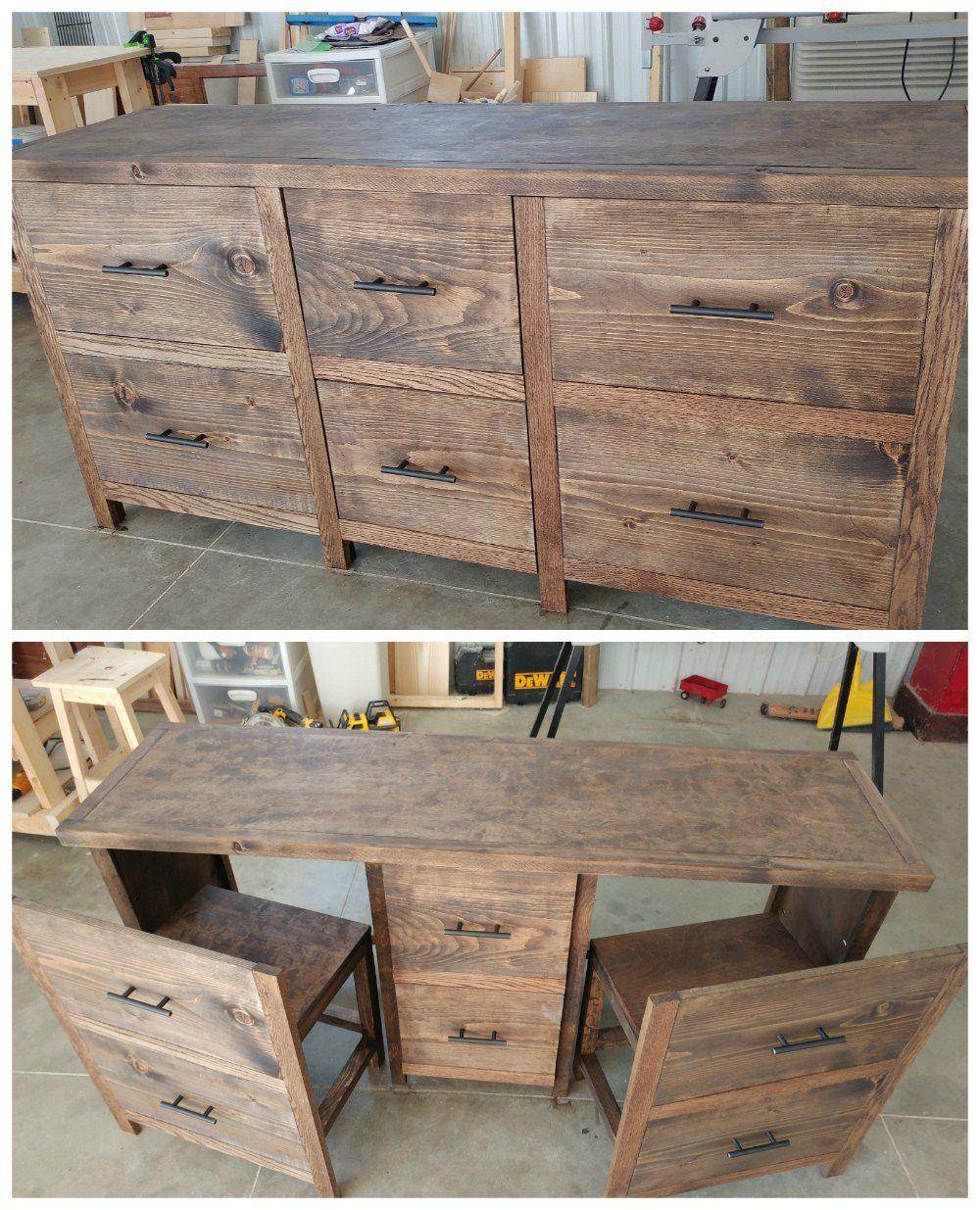Hide a desk anywhere! Hidden Desk Do It Yourself Home