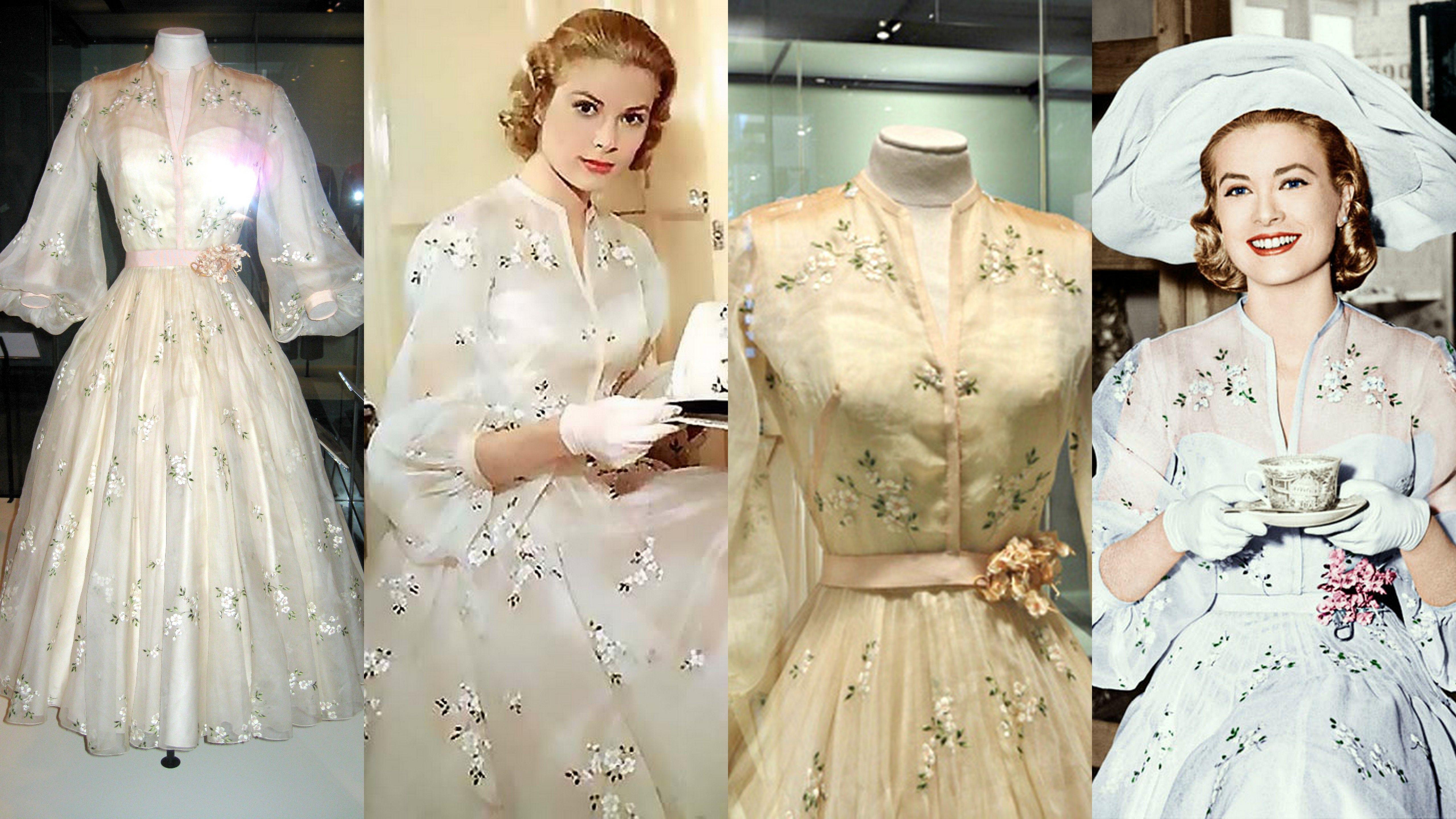 Costume On Grace Kelly in High Society Designer Helen