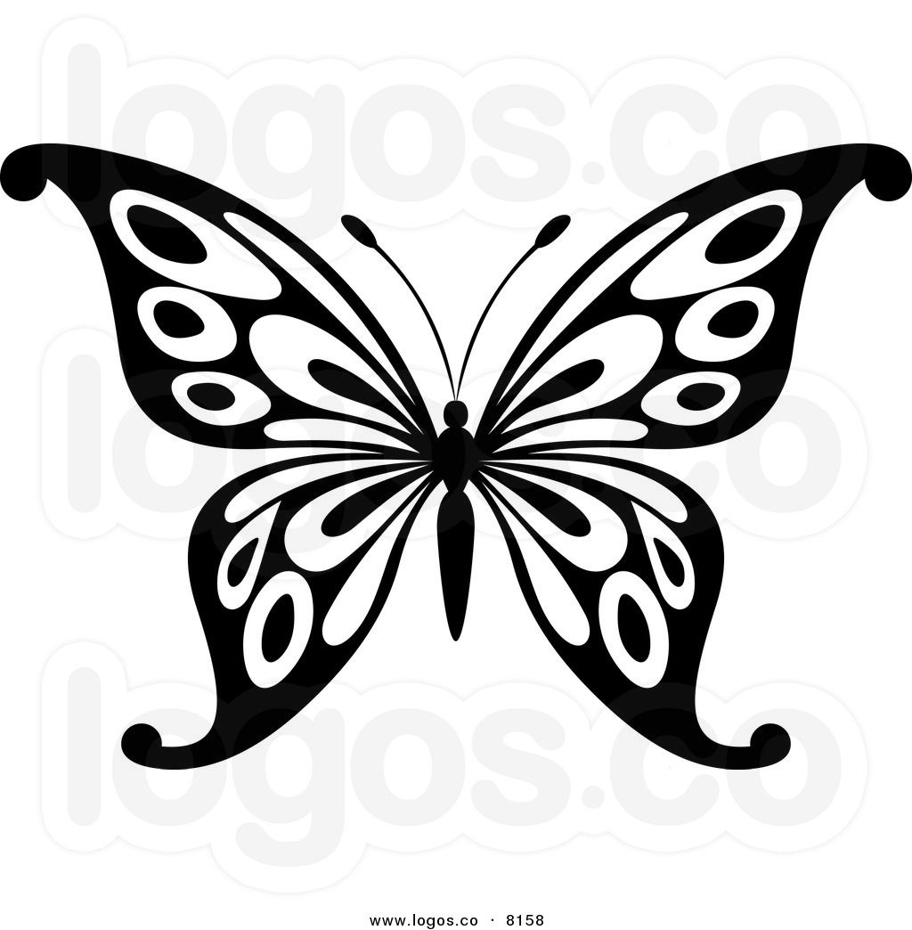 Clipart Of Butterfly