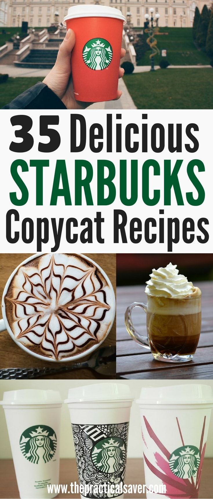 35 Delicious Starbucks Copycat Recipes Starbucks recipes