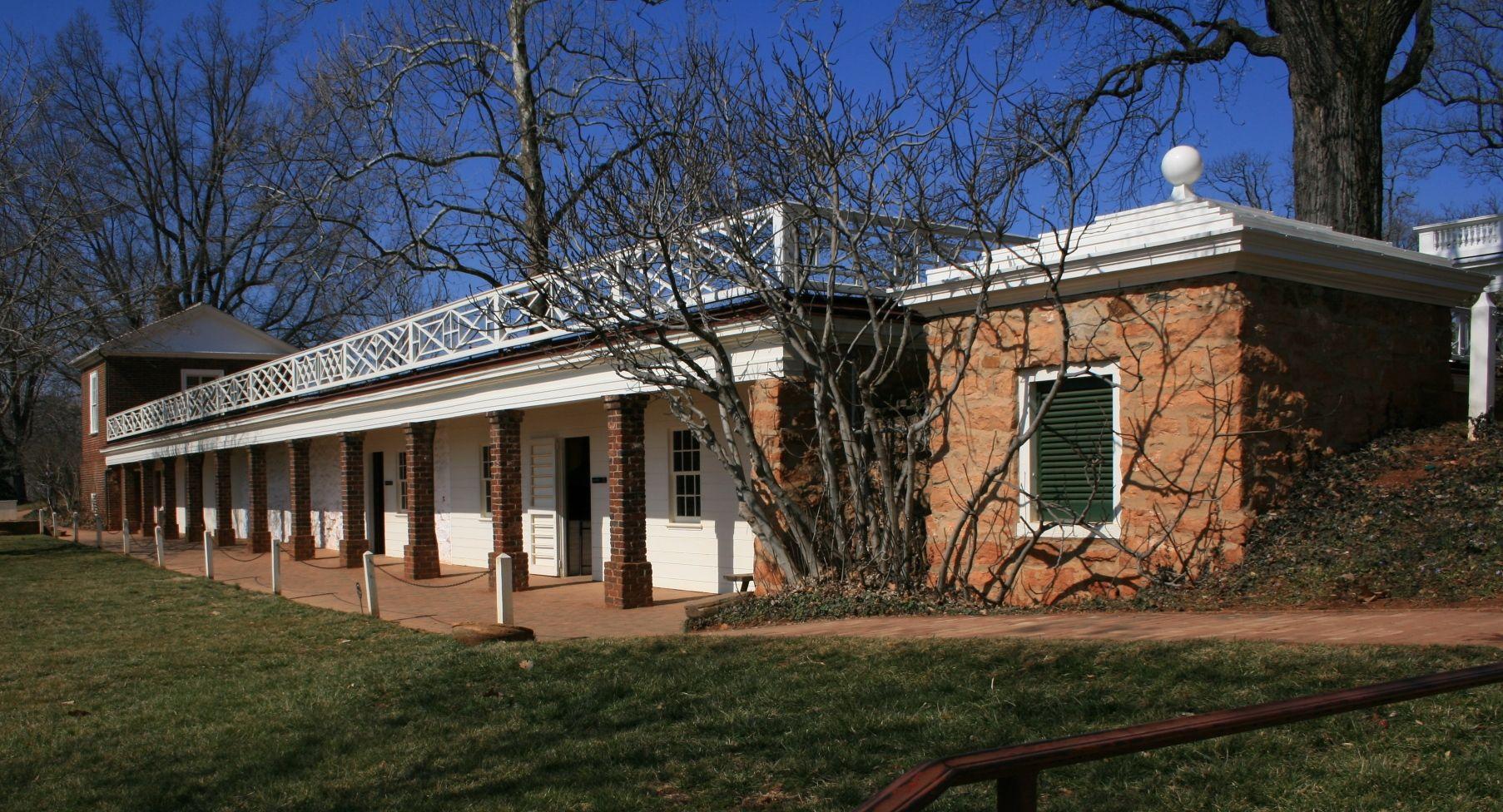 Kitchens and slave quarters Thomas Jefferson Pinterest