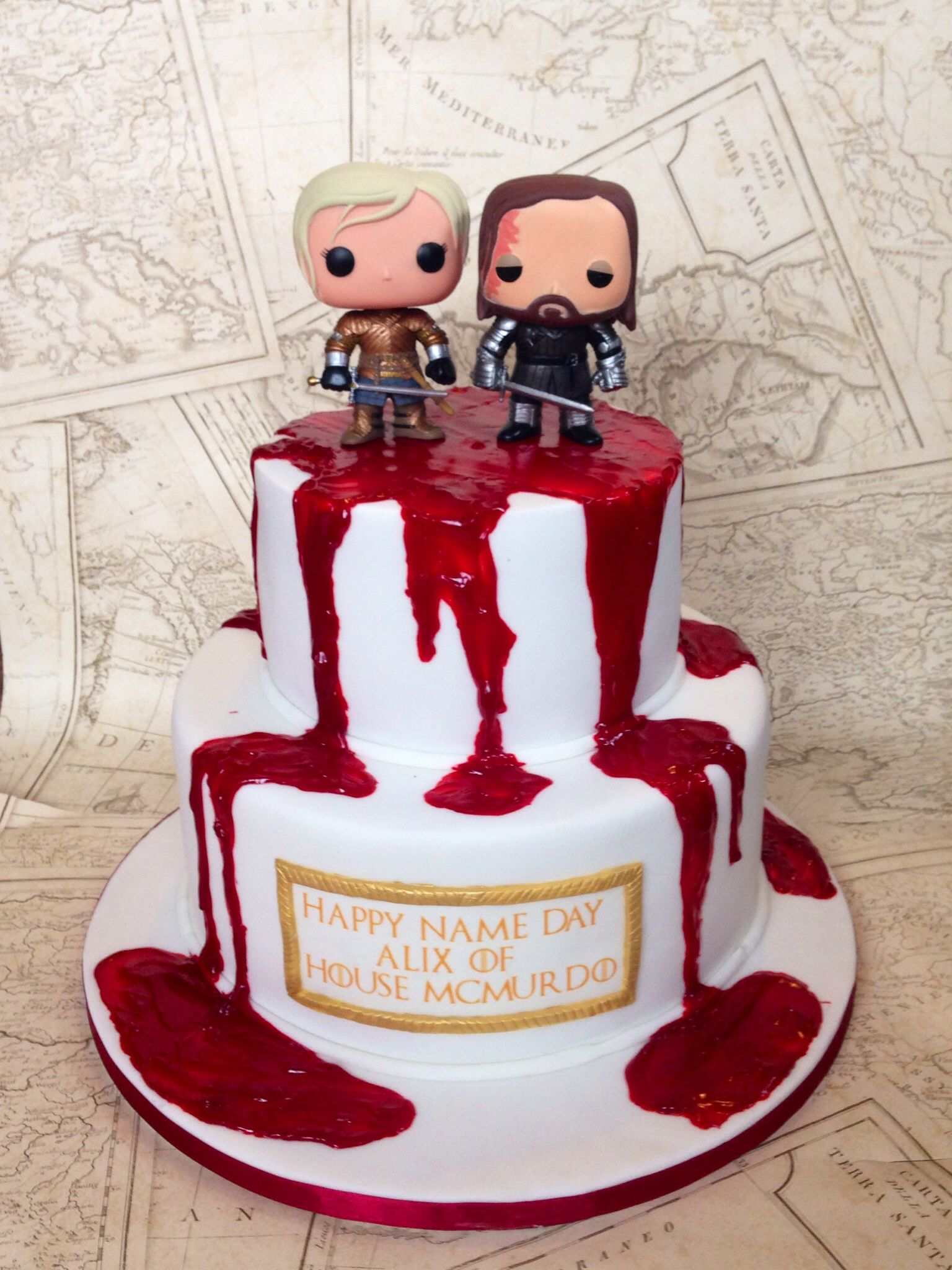 Game Of Thrones Cake Cakes