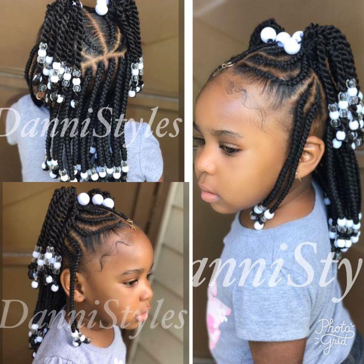 Nice & neat little black girl Pinterest