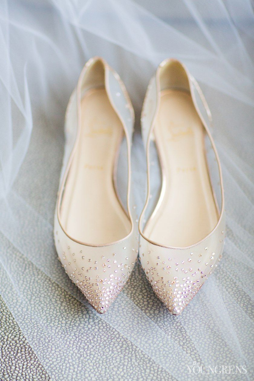 Simple and beautiful bridal flats at Washington D.C