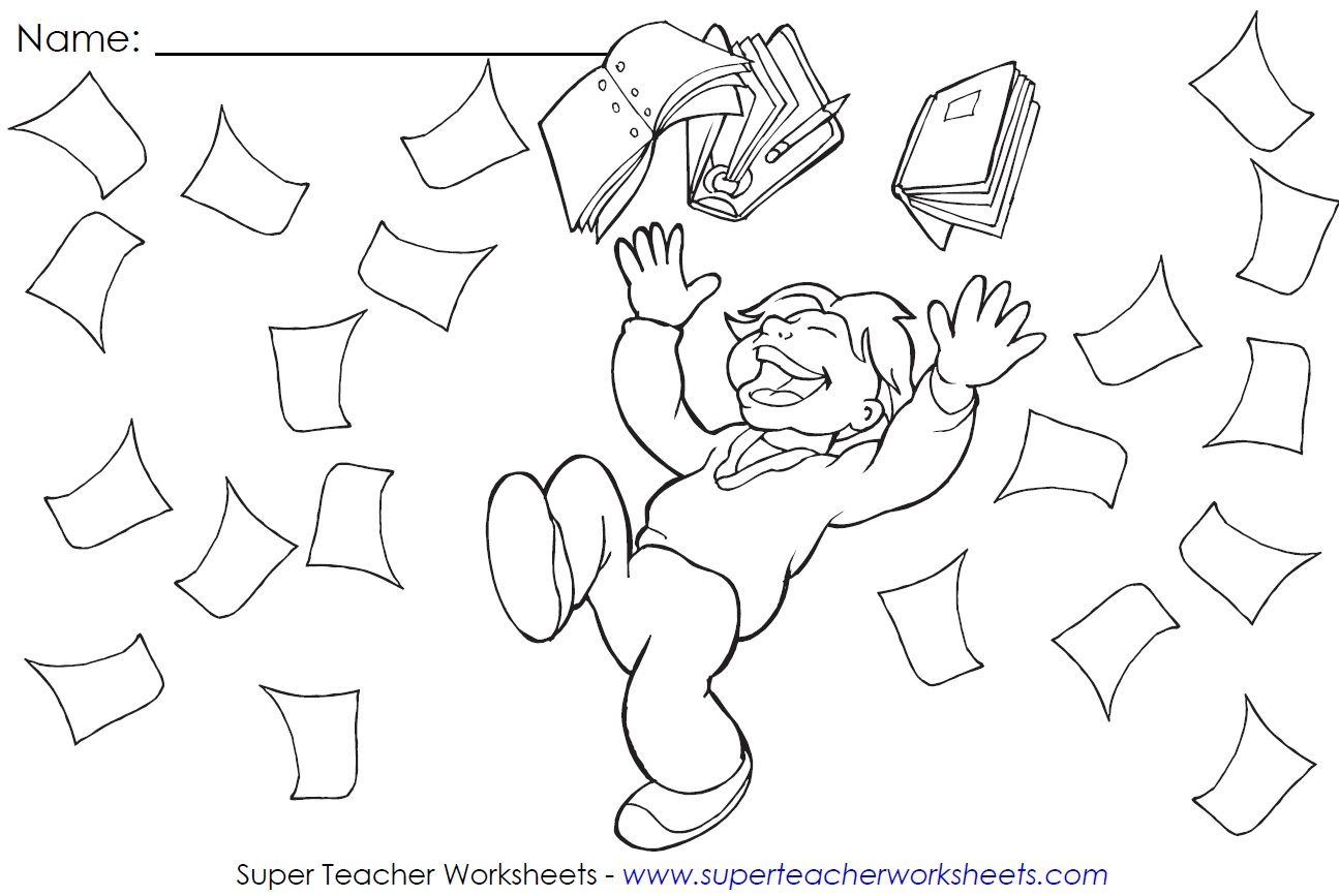 Check Out This Sticker Chart For June It Shows A Happy Kid Celebrating The End Of The School