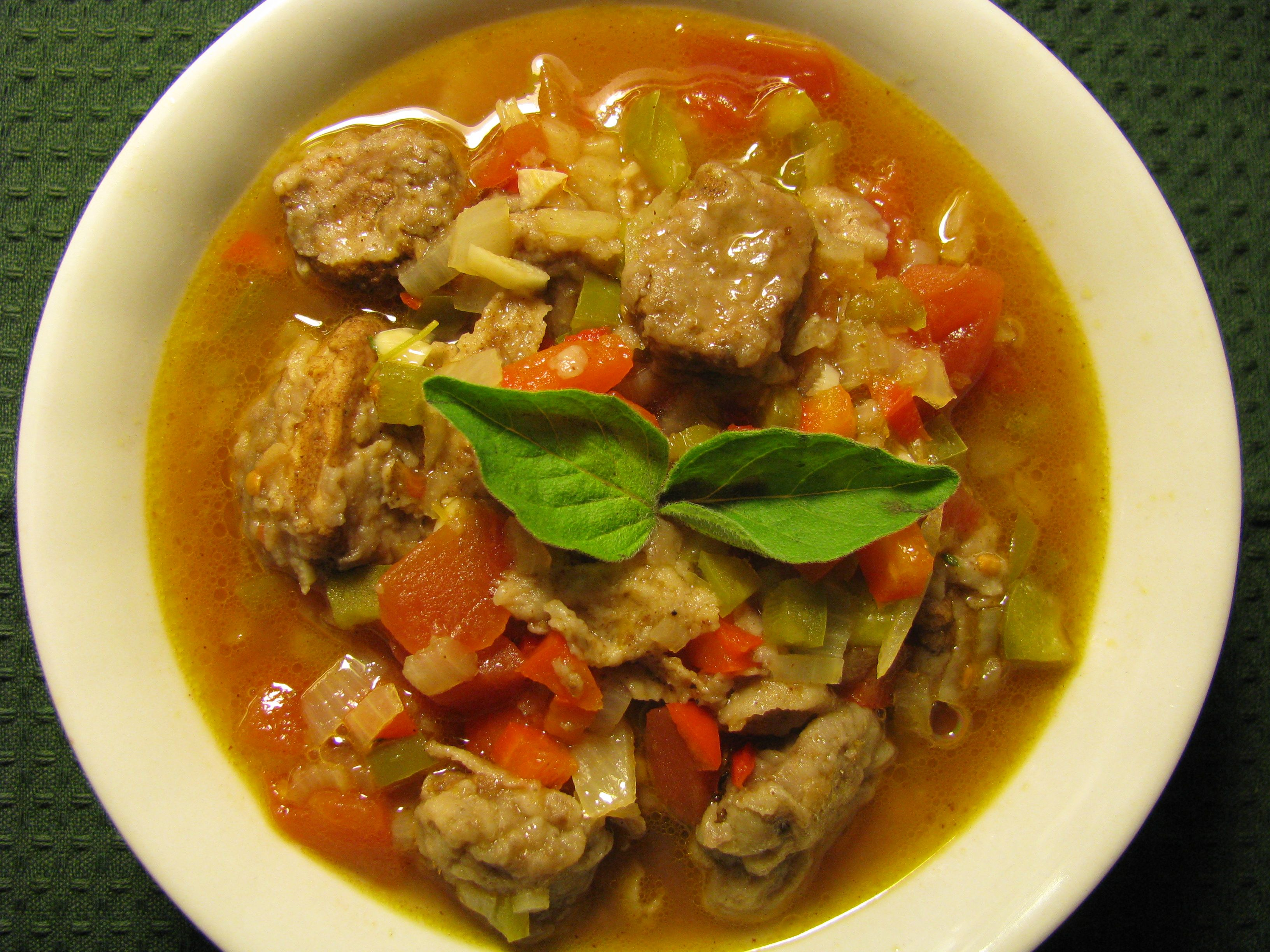 Caribbean Christmas food St.LuciaCreole Fish Stew