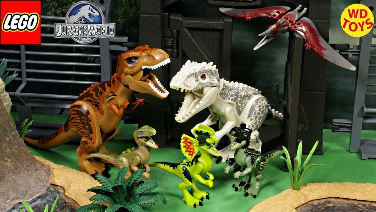 New Lego Jurassic World Dinosaurs Complete set / Indominus