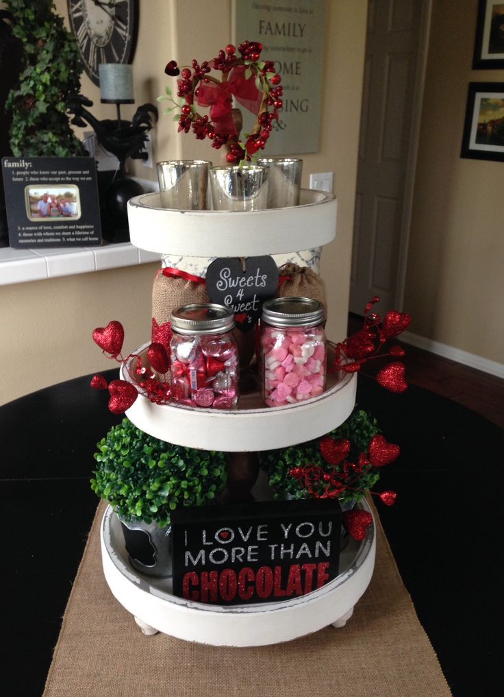 3 tier stand from HomeGoods...everything else from