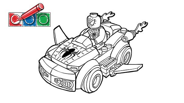 lego spiderman coloring pages aaldtk