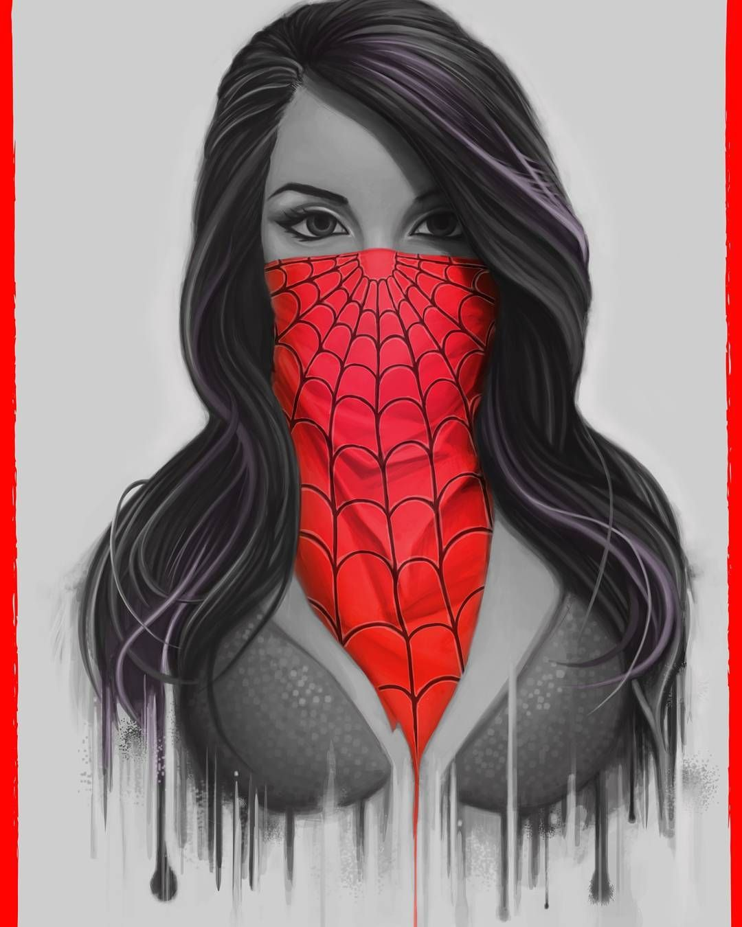 bandana Art Pinterest Bandanas, Digital ink and Masking