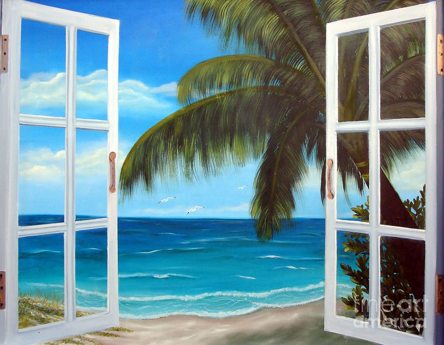 looking out a window painting Google Search Art that