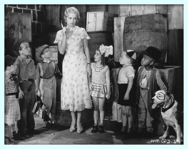 Image result for miss crabtree dresses little rascals