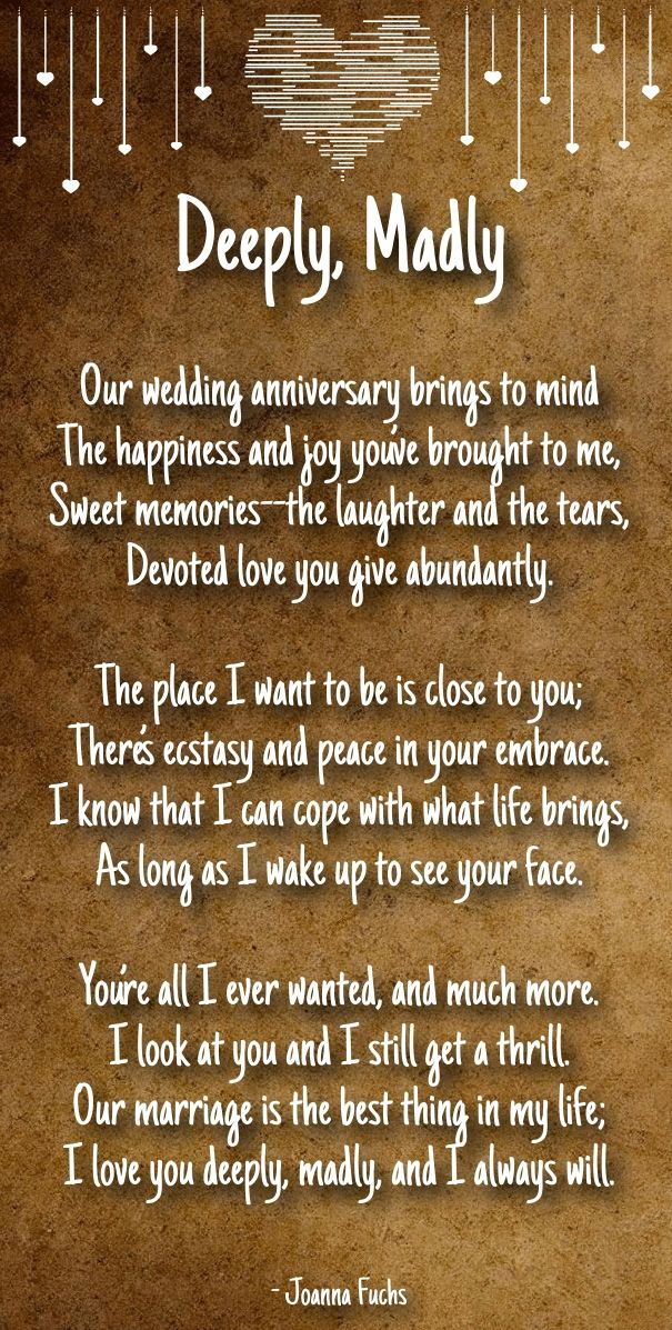 anniversary poems for boyfriend Romantic Poems for Her