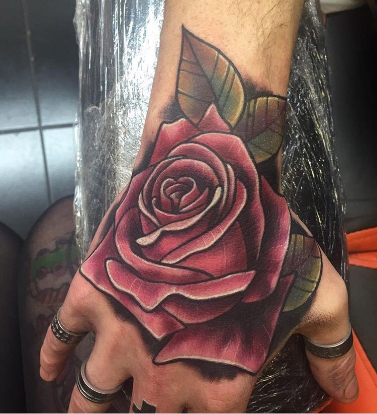 Tattoo hand rose My style Pinterest Tattoo hand