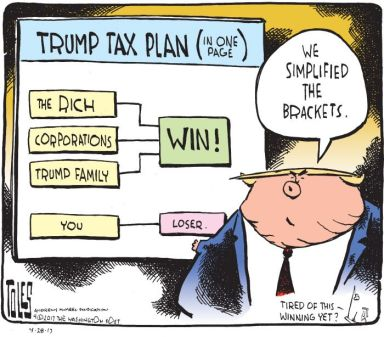 Image result for tax plan cartoon