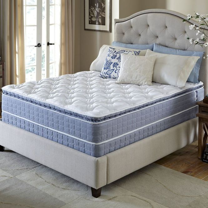 Serta Revival Pillowtop Full Size Mattress And Foundation Set
