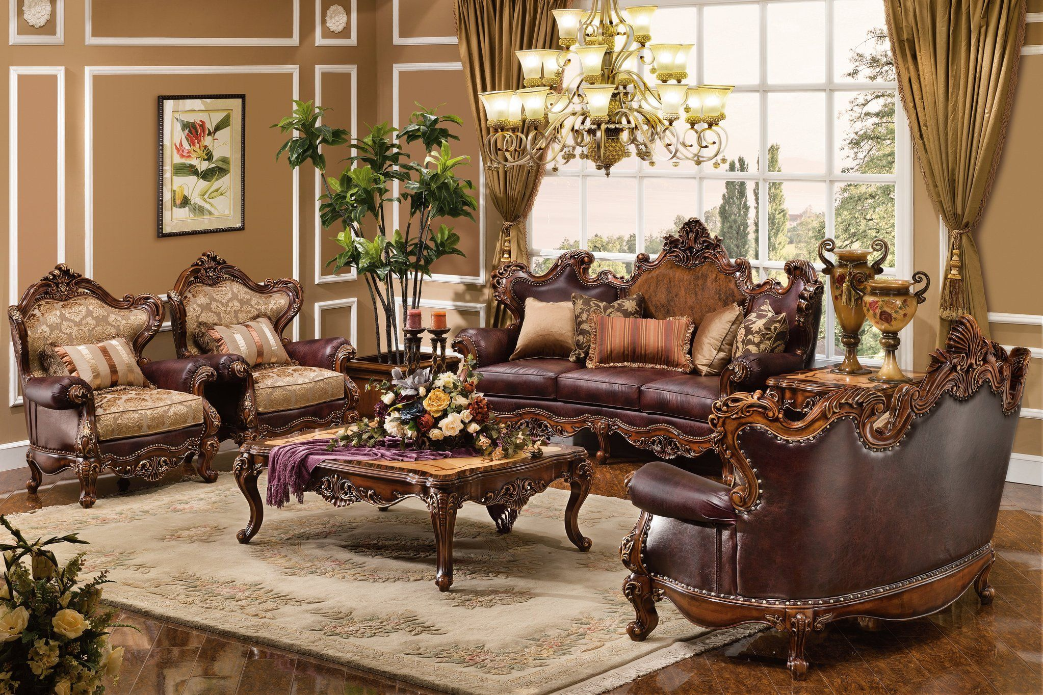 Ideas For Casual & Formal Living Rooms