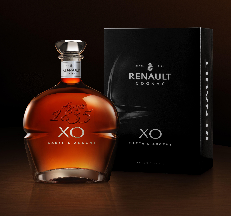 New XO Carte d'Argent Cognac Renault Design by QSLD