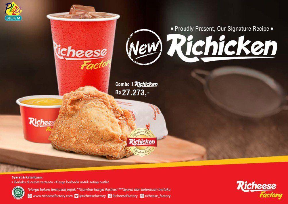 Richeese Factory Promo Menu Hemat http//www.perutgendut
