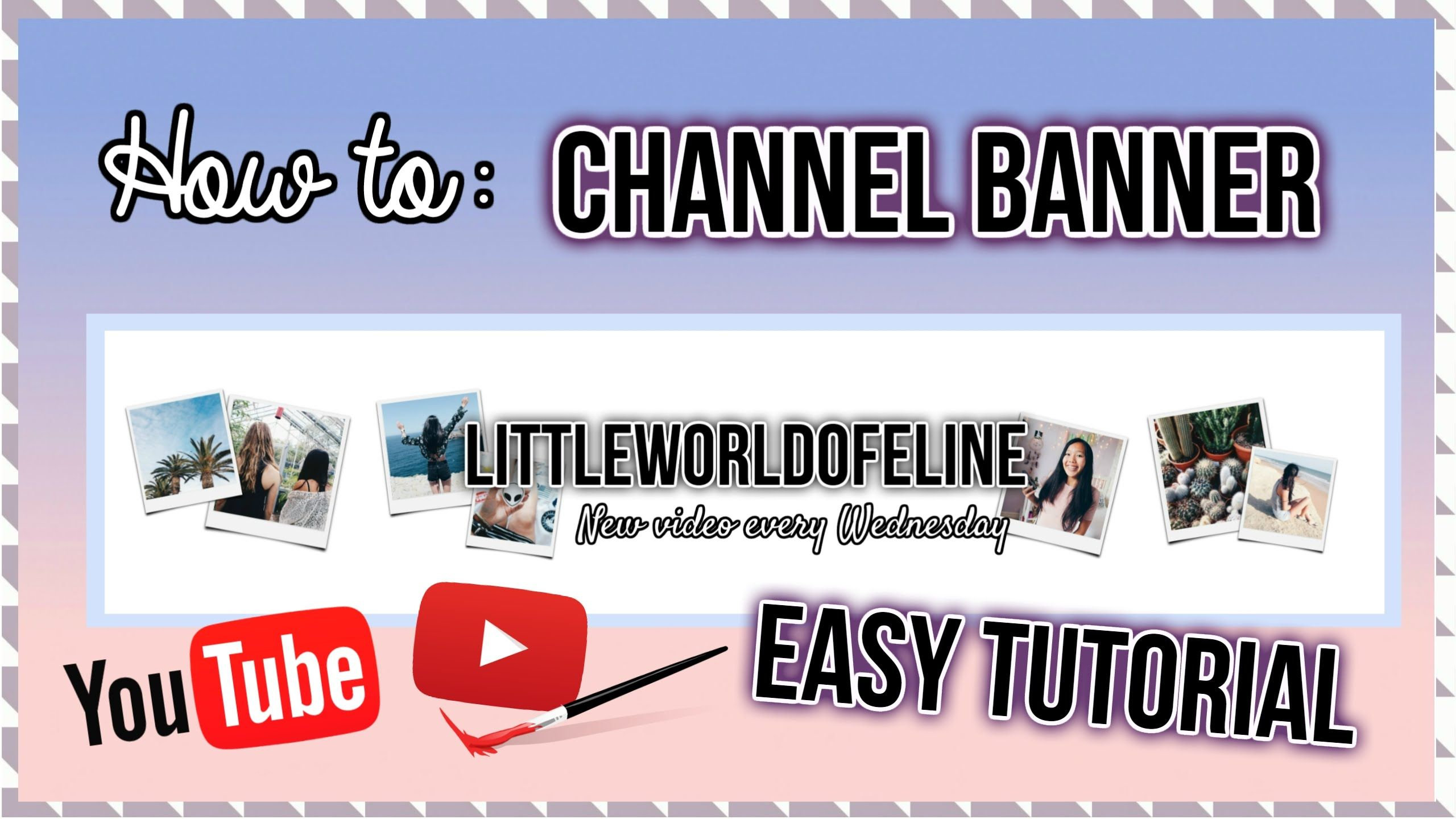 Youtubefreetouse C B How To Make A Channel Banner