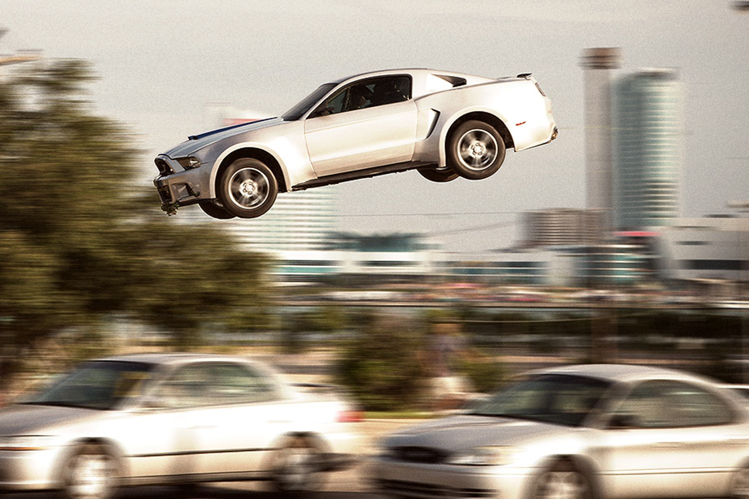 Ford Mustang Flying Need For Speed Movie Photo 3 Aaron