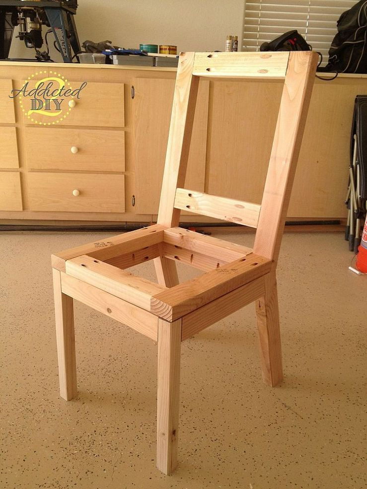 Hometalk DIY Upholstered Dining Chairs //BUILD