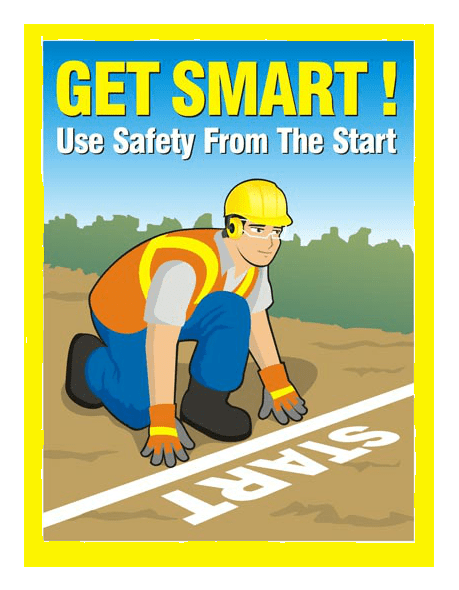 Safety_slogans Be smart and Be safe.. safetycatch