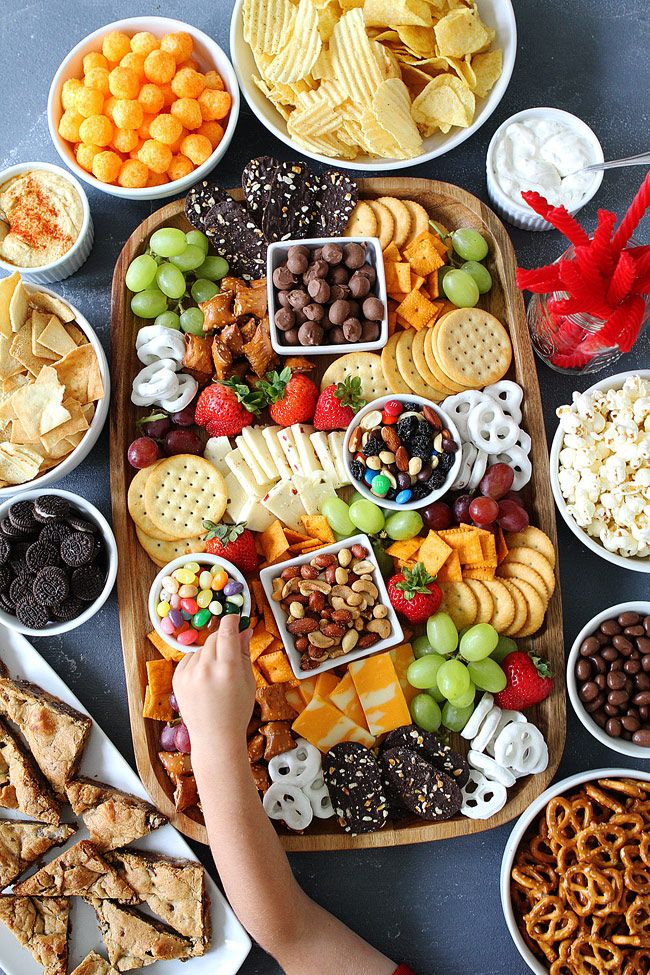 Make a Sweet and Salty Snack Board for your next party