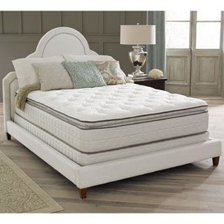 For Spring Air Premium Collection Noelle Pillow Top King Size Mattress Set Get