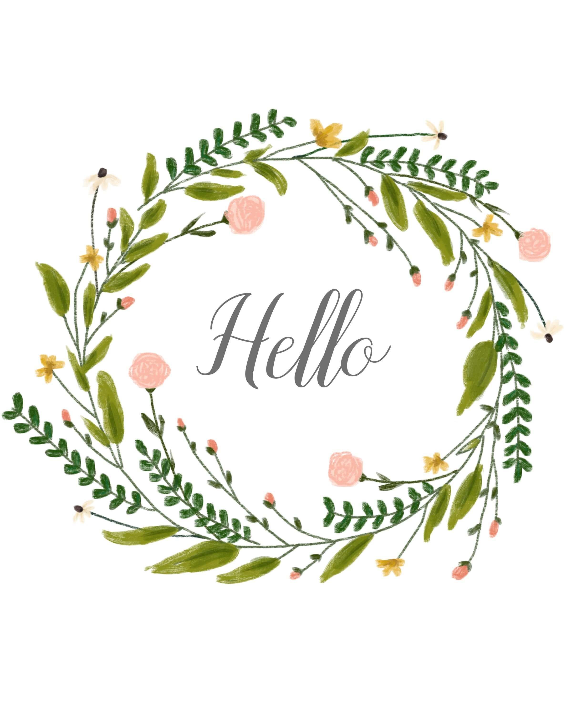 Pretty Pics Thursday [7] Free Wreath Printable Wreaths