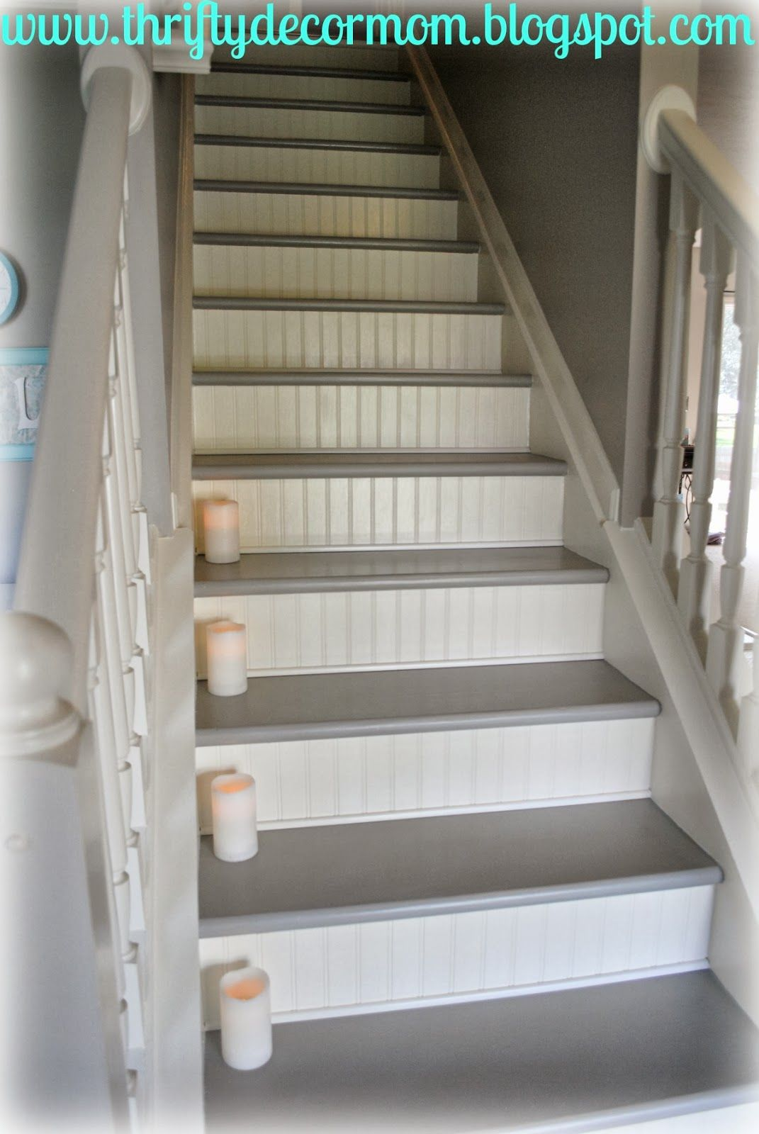 I'm so excited to share the updates we made to our stairs